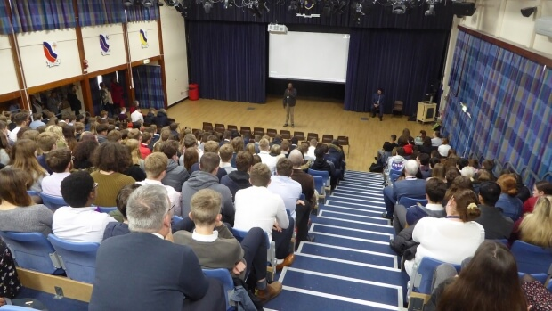 Engaging with Thatcham Sixth Form