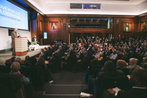 IofC Rajmohan Gandhi Speaks to a World at a Crossroads in London