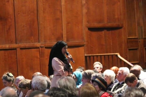 Amina Khalid sharing