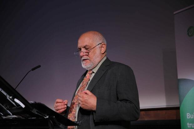 William Morris speaking
