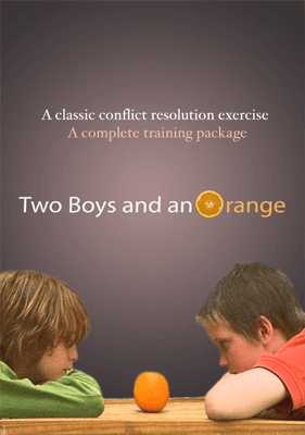 Two Boys and an Orange