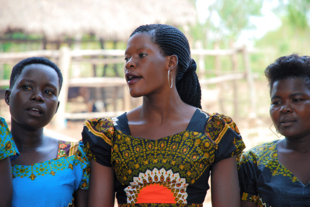 Annet and other single mothers started a dancing group because dancing helped them to block out bad memories