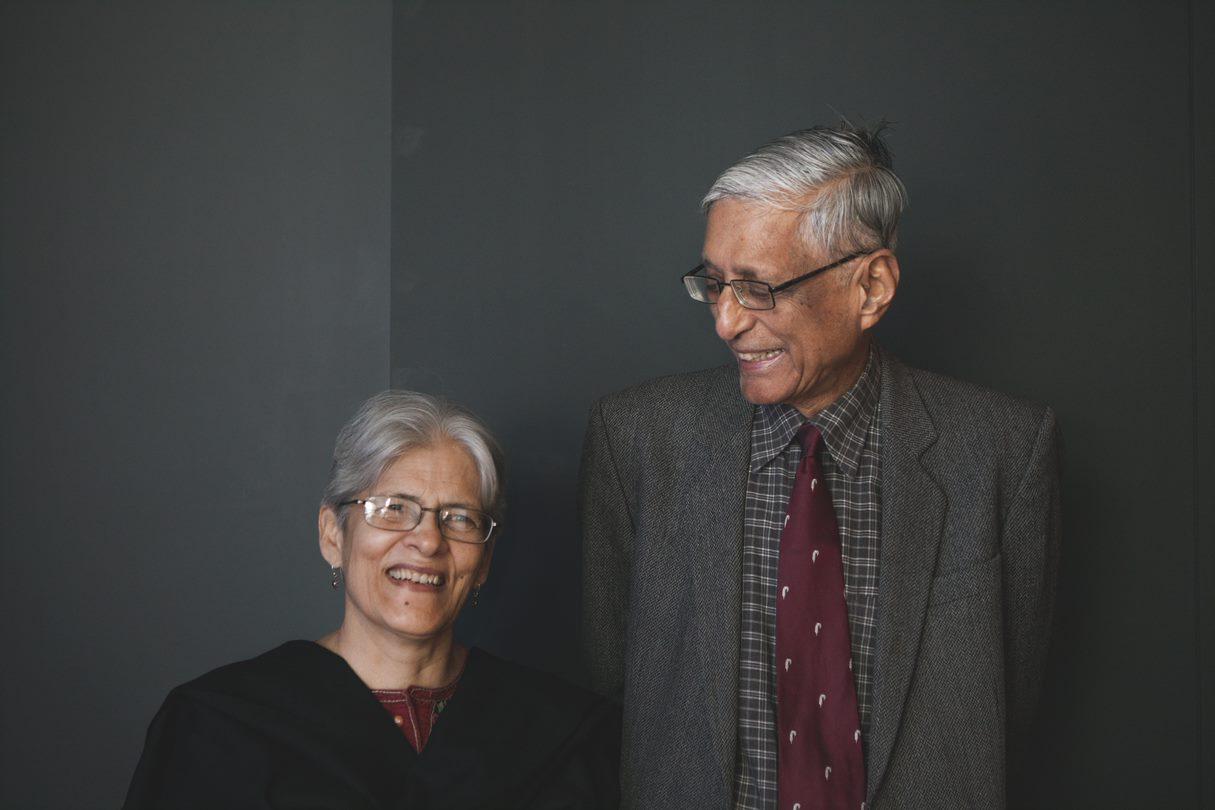 Rajmohan and Usha Gandhi