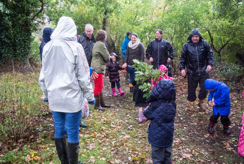 School tree planting project