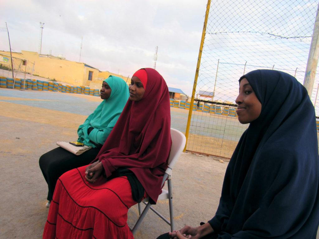 Somali women attending training on trust-building