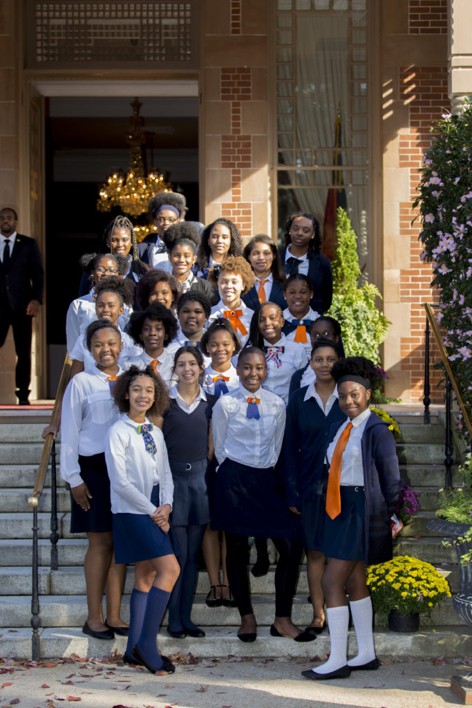 TPLI bringing young girls closer to leadership at UN 'claiming our power' event in North Carolina.