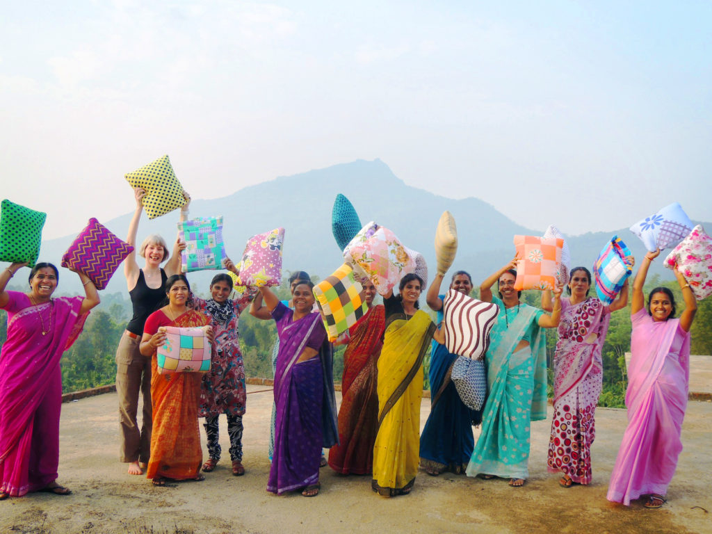 Secret Pillows empowers women in rural India